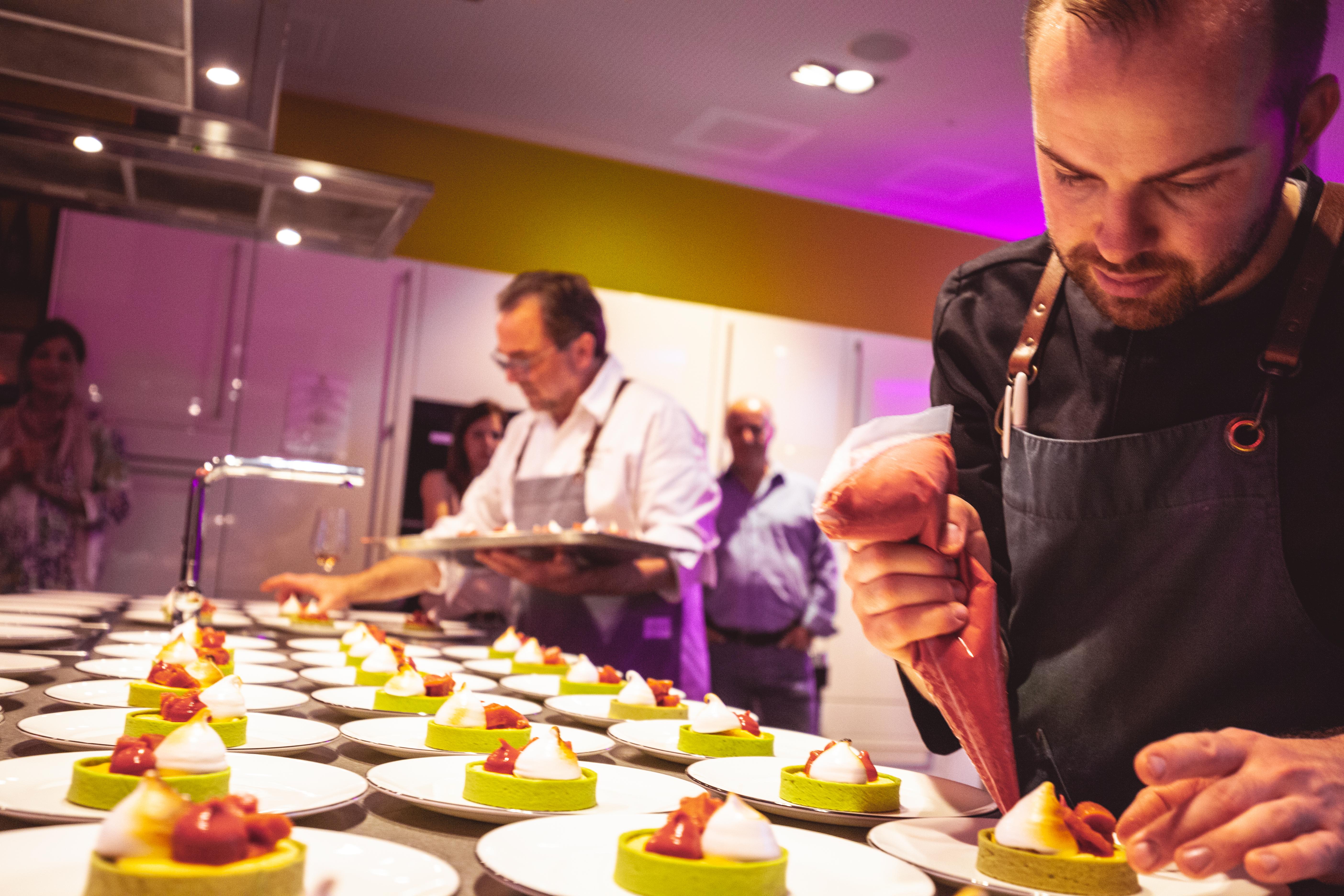 Küchenparty & Front-Cooking in der Kochschule - AUSGEBUCHT